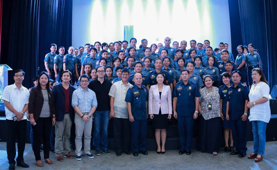 recognition of newly assigned policemen