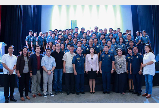 recognition of newly assigned policemen_