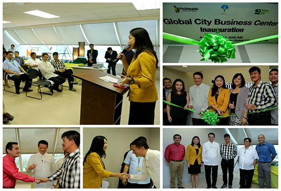 Inauguration of PhilHealth's Global City Business Center