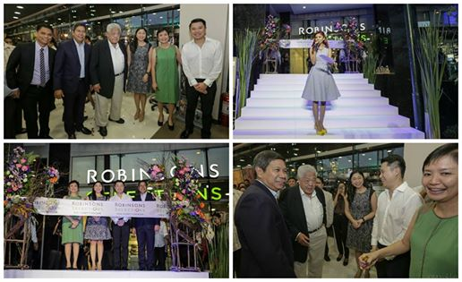 inauguration of Robinson Supermarket's 100th