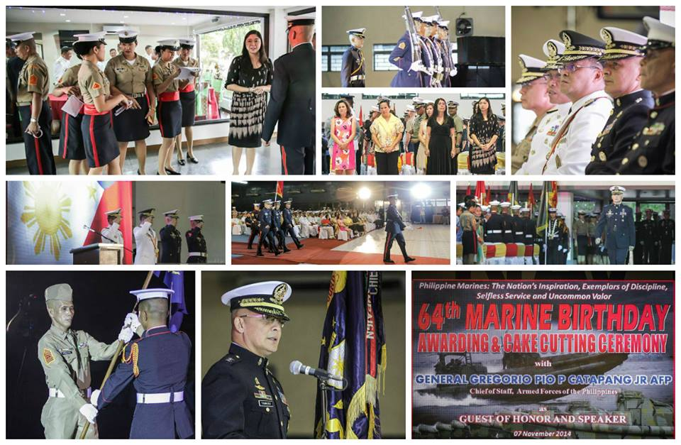 64th Marine Birthday Awarding & Cake Cutting Ceremony