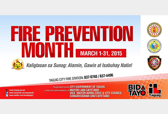 fire prevention month 2015