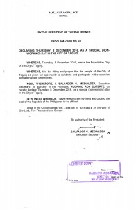 2016-10-21-proclamation-no-90-taguig-cityhood
