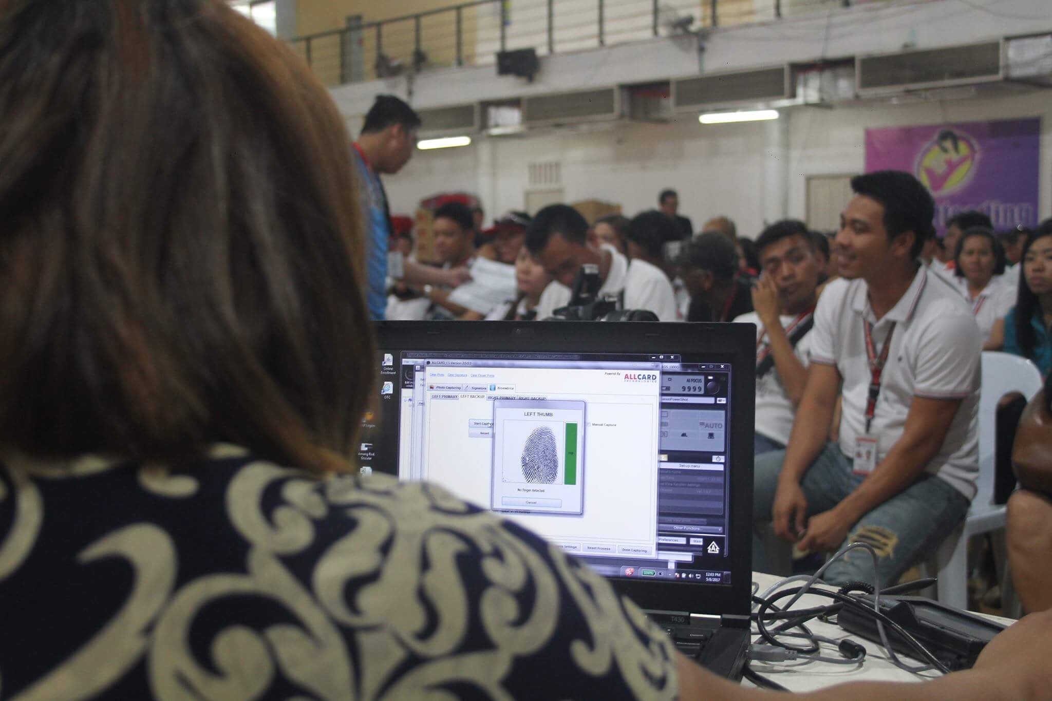 Taguig City brings UMID card registration to its employees