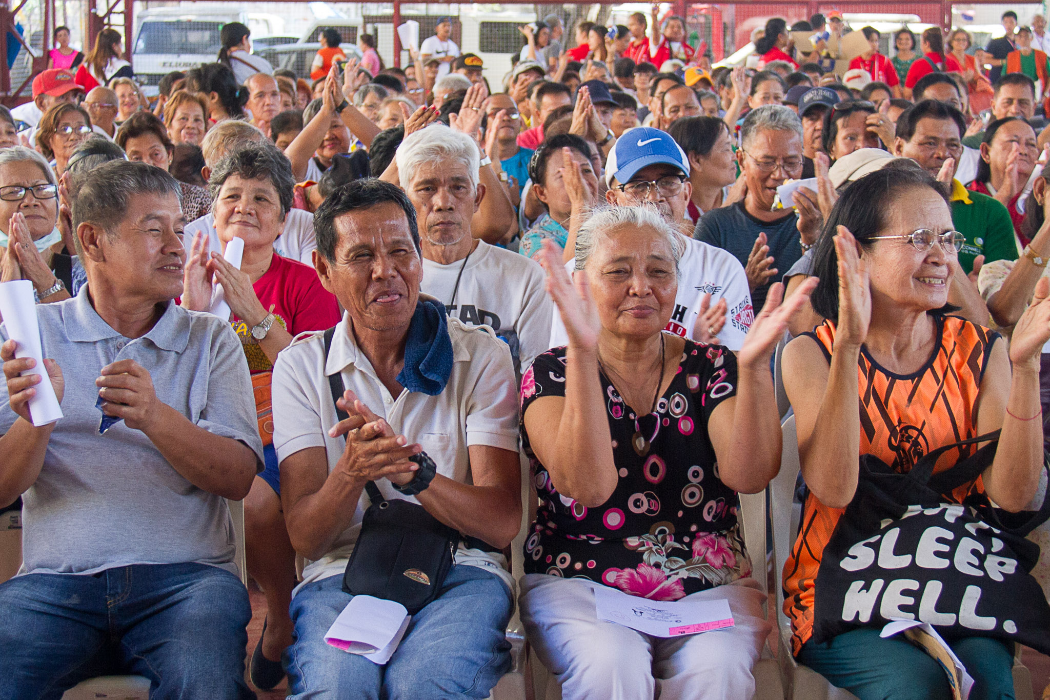 Taguig City hands birthday cash gift to almost 7K seniors for first two months of 2018